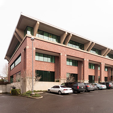 Building exterior of our Clackamas, OR office.
